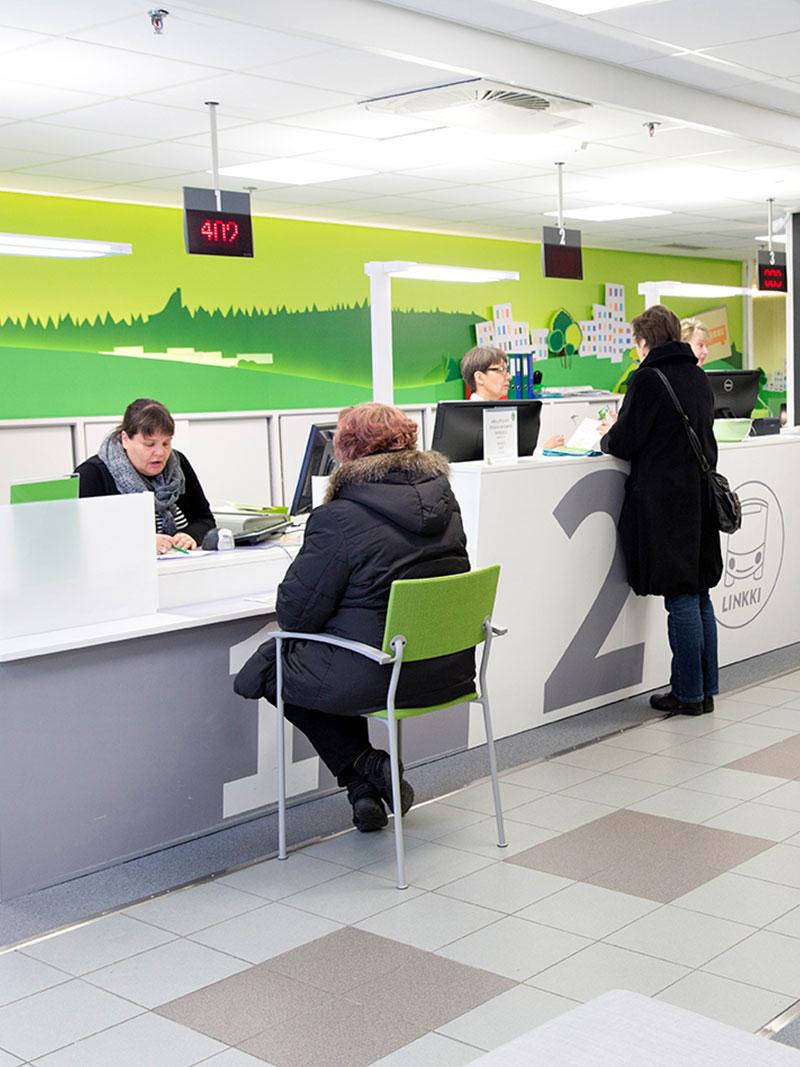 Linkki-palvelupiste Forumjkl Jyväskylä