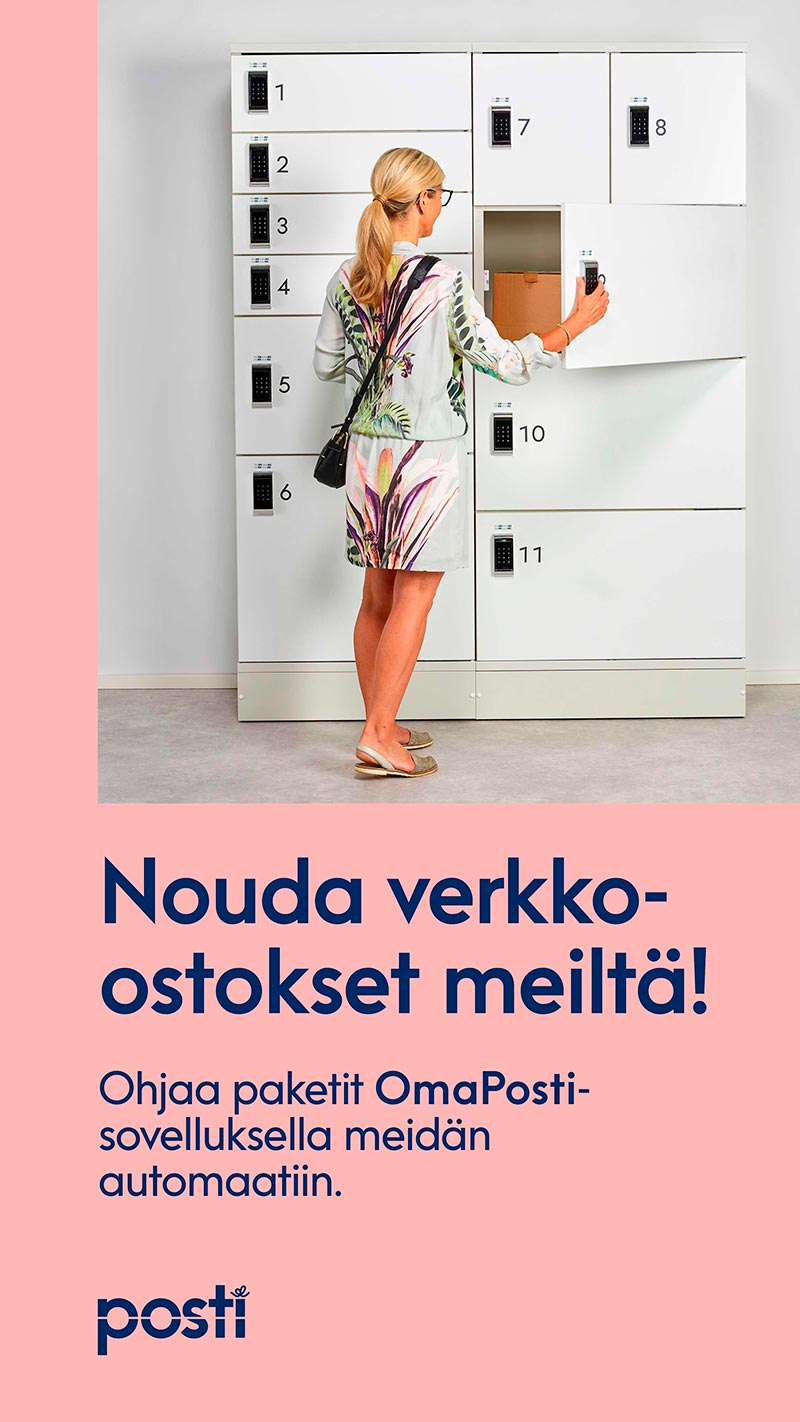 posti pakettiautomaatti forumjkl jyväskylä